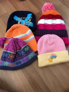 Beanie up to 12 years old(As Good As New!)#winter