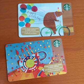 Starbucks USA - Starbucks Birthday Card