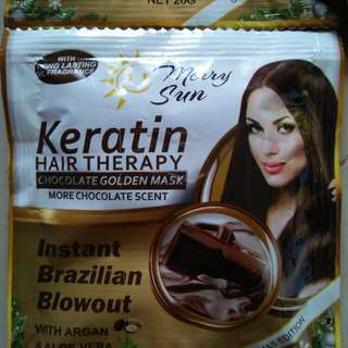 Merry Sun Hair Chocolate Keratin Treatment