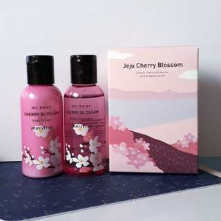 🌸 Cherry Blossom Body Cleaner & Lotion