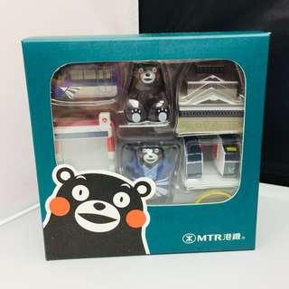 港鐵公司熊本熊限量版擺設