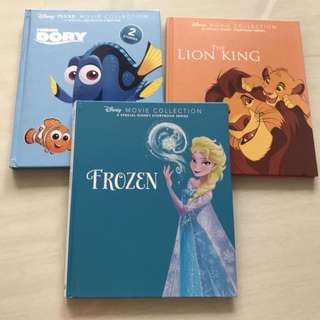 Disney movie collection - 3 story books