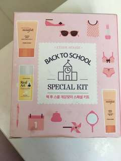 Etude House Back to School kit