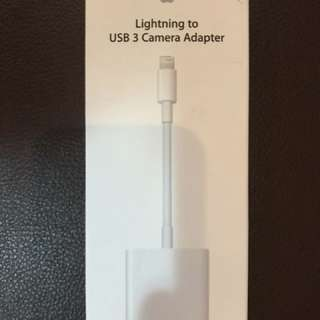 Lightning yo USB 3 Camera Adapter
