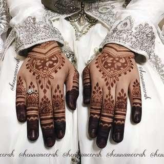 Bridal Henna - Wrist Length Natural Henna