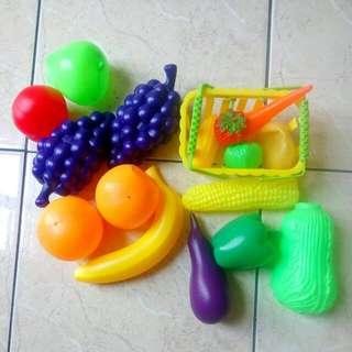 Fruits & vegetables  Toys sets
