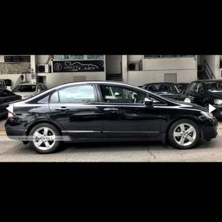 Honda Civic 1.8 For Rent $420 ( For Grab / Uber / Personal )