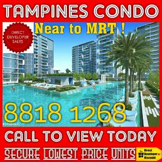 TOP Soon !! LAST Tampines Private Condo At ONLY about $1,000psf For StarBuy SALE Now !! 3 Bedroom and Studio available !