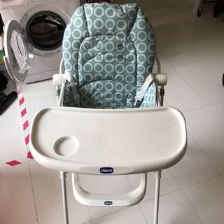 Baby High Chair, light and Compact Folding