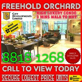 ☆☆ NEW FREEHOLD Orchard Condominium (2 Bedder Unit) on Limited-Time STARBUY OFFER !! ☆☆