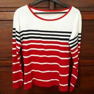 Brand New Red and White Striped Shirt