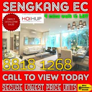 Further DISCOUNT NOW !! 🌟 LATEST BATCH of NEW EC (Executive Condominiums) Direct Developer SALE !!🌟 3 Bedroom + Studio Room Available Now !!
