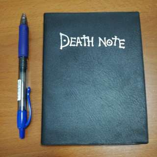 Death note leather notebook (14x10.5cm)