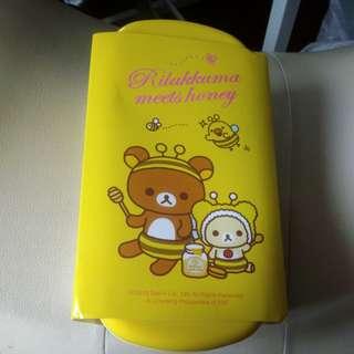 鬆弛熊餐盒,兩層,全新