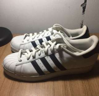 ADIDAS SUPERSTAR BLACK & WHITE