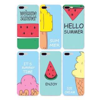 Summer themed iPhone case