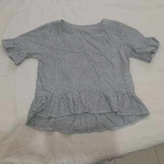 PEPLUM BLOUSE preloved