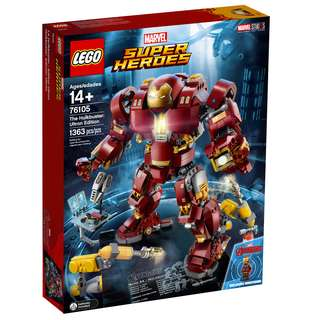**Launching In March** 76105 LEGO Marvel Super Heroes The Hulkbuster: Ultron Edition