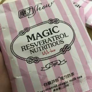 魔力show減肥奶茶
