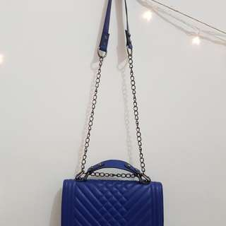 Formal Blue for U - Sling Bag