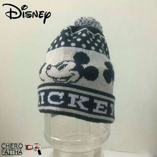 Disney mickey snow hat cap topi kid budak