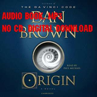 Origin by Dan Brown (AUDIOBOOK)