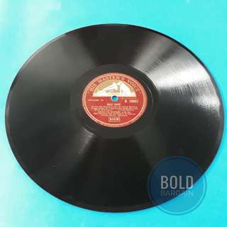 Authentic Vintage 78 rpm Vinyl Record Marilyn Monroe Heatwave, After You Get What You Want B10847