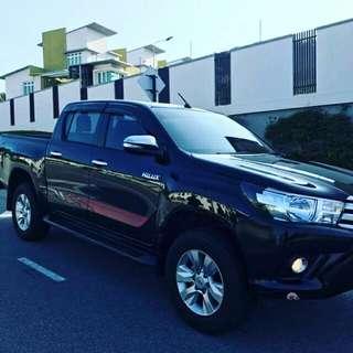 Toyota hilux sambung bayar/continue loan