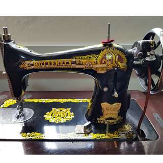 Butterfly  Antique Sawing Machine