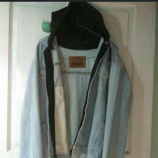 Jacket hoodie pria