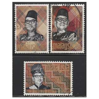 MALAYSIA 1969 Solidarity Week set of 3V used SG #56-58