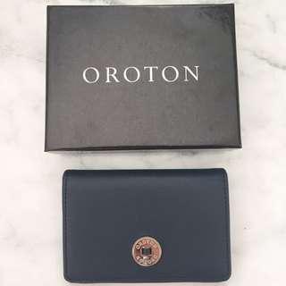 Oroton Navy wallet