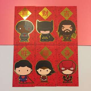 New! Super Heroes Red Packet