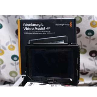 Blackmagic Video Assist 4k recorder/monitor (under warranty)