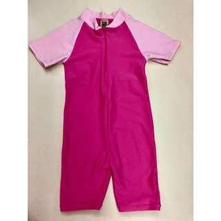 Sandbox pink rash guard