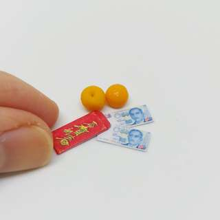 Miniature Chinese New Year Ang Pow Money