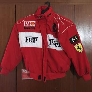 Ferrari red jacket