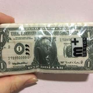 US Dollar Tissues