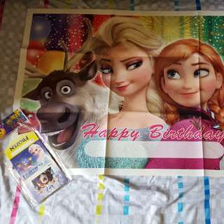 Frozen Party Decoration Set