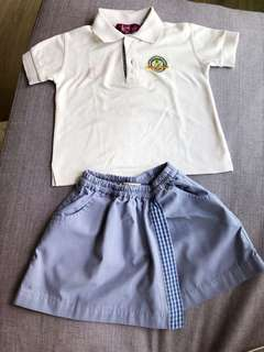 Learning vision kids polo tee