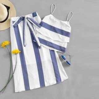 Terno (Top + Skirt)