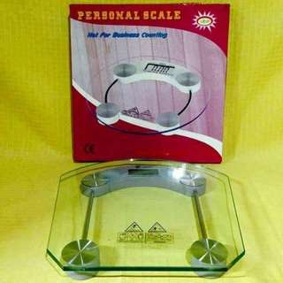 Personal Weighing Scale Glass
