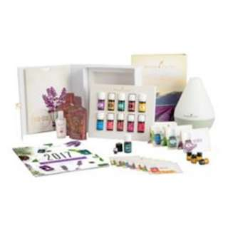 [3 FREE OILS] Young Living Dew Drop Premium Starter Kit + FREE Eucalyptus Radiata 15ml, Oregano 5ml, Tea Tree 5ml