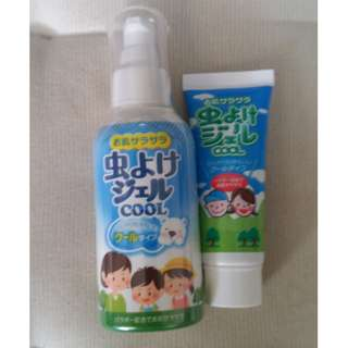 Sealed and New: mosquito repellent gel (立石春洋堂 虫よけジェルクール ポンプ 80g)  made in JP
