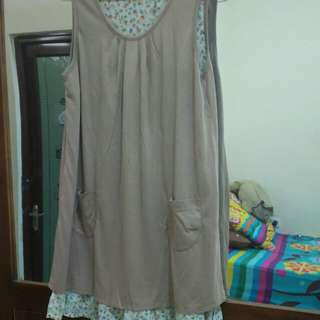 Two side dress