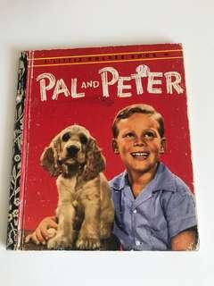 Pal And Peter - Little Golden Book