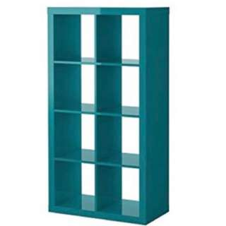 IKEA Kallax Shelving Unit (high glossy green)