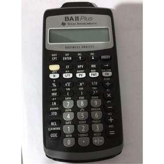 🚚 BAII PLUS財務計算機