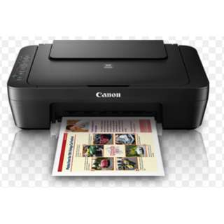 Canon Pixma MG3070S Printer- Barely used