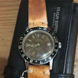 Vintage watches skin diver